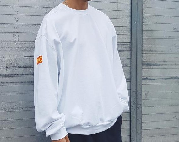 Baggy Sweatshirt White