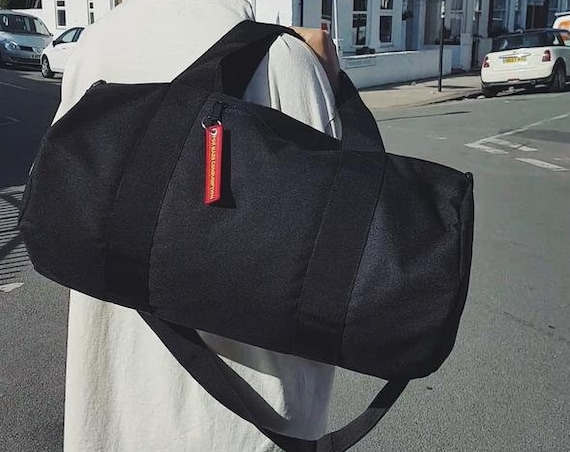 Barrel Bag Black