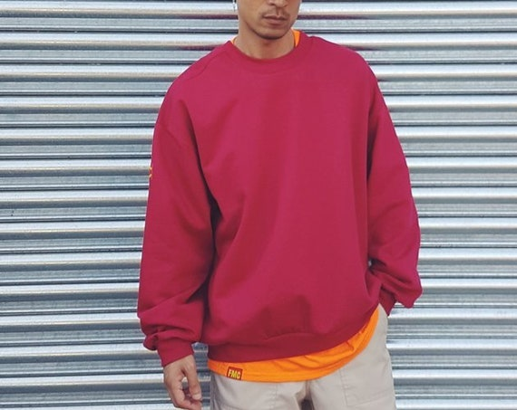 Baggy Sweatshirt Cranberry