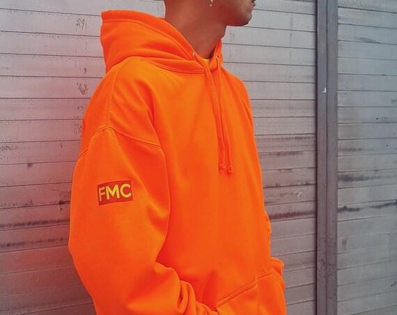 Premium Sport Hoodie Neon Orange