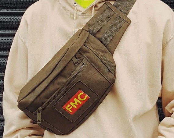 Heavy Duty Bum Bag Olive