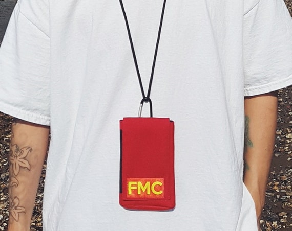Raver Phone Pouch Red
