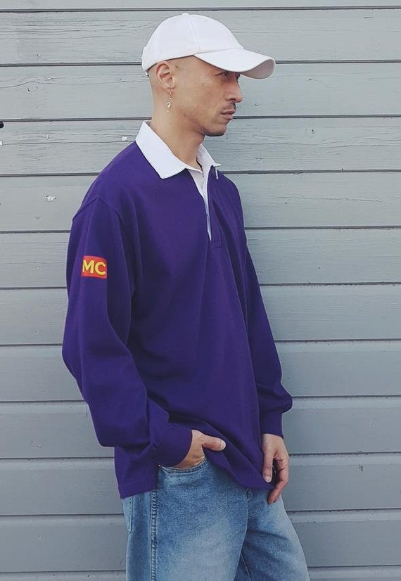 Rugby Shirt Purple