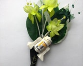 Handmade Lego - R5-D4 Droid - Star Wars - Wedding Buttonhole / Boutonnieres