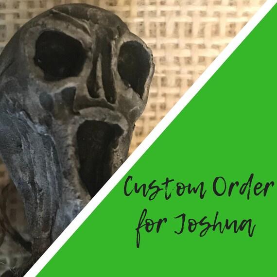 Custom protection doll for Joshua