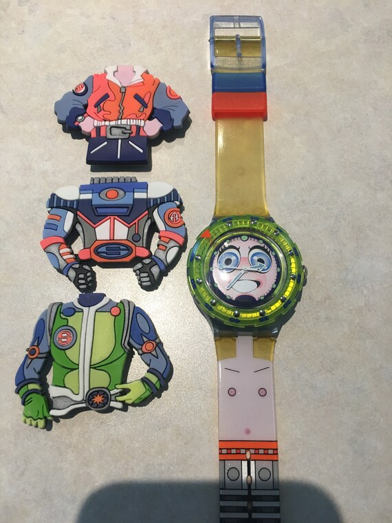 Swatch Strepp Spaceman