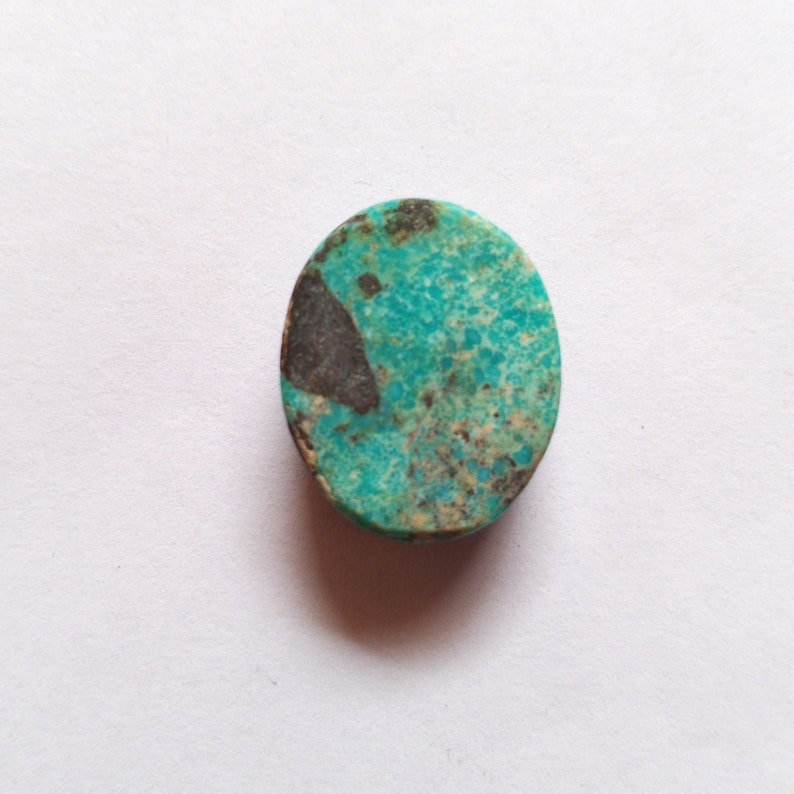 Designer Oval Shape Turquoise Loose Gemstone Tibetan Turquoise Cabochon AAA Quality Turquoise Gemstone Ring Size 20*16*8mm Weight 28Cts