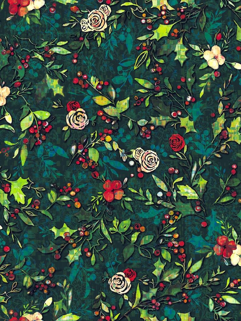 JOLLY PENGUIN GREEN fat quarter 100/% COTTON FABRIC sew quilt