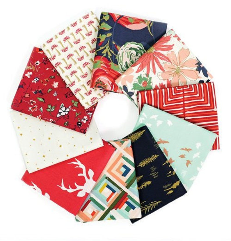 Fat Quarter Bundle CB-BFQ304 Art Gallery Fabric Autumnal TEN Assorted Fabrics 100/% Quality Quilter/'s Weight Cottons