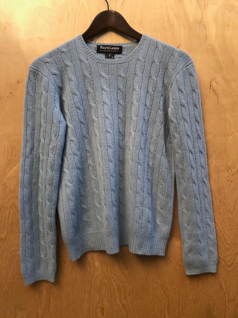 c10e4b916b78 AMAZING Ralph Lauren Collection Classic BLACK LABEL Cashmere