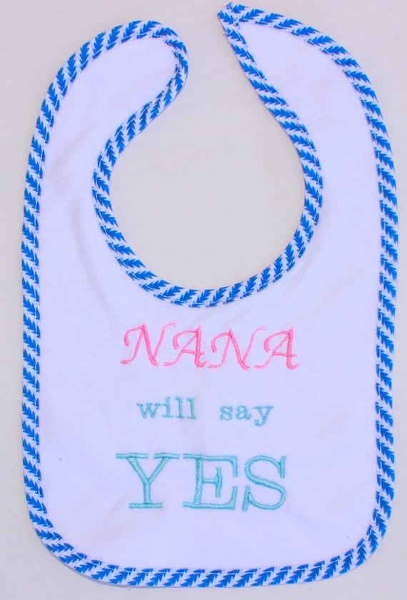 Maternity Gift Girl Personalized Maternity Gift Handmade Elephant Embroidered Bib Maternity Gift,Personalized Bib