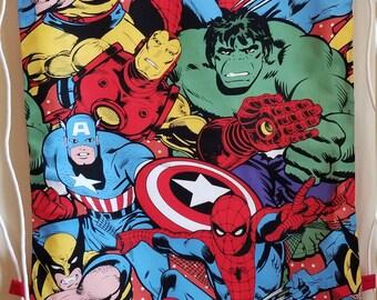 83a7b1030322 Superhero swim bag