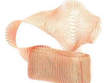 #CGN018 10 Packs 18mm Copper Mesh Tube