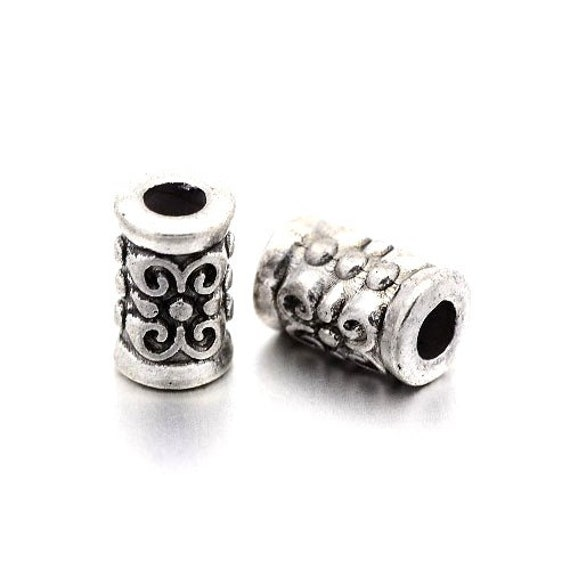 Packet of 10 x Antique Silver Tibetan 19 x 20mm Clasp and Toggle Sets Charming Beads HA11675