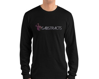 fc420704c3f6 Eyeshadow filled BS Abstracts new Tik Tok Logo Merch American Apparel 2007  Unisex Fine Jersey Long Sleeve T-Shirt