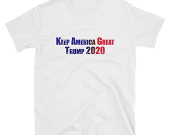 3b296e97ce5e Adult - Keep America Great Trump 2020 Non-Binary LMAO Short-Sleeve Unisex T- Shirt