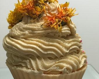 Chrysanthemum Soap Cupcake