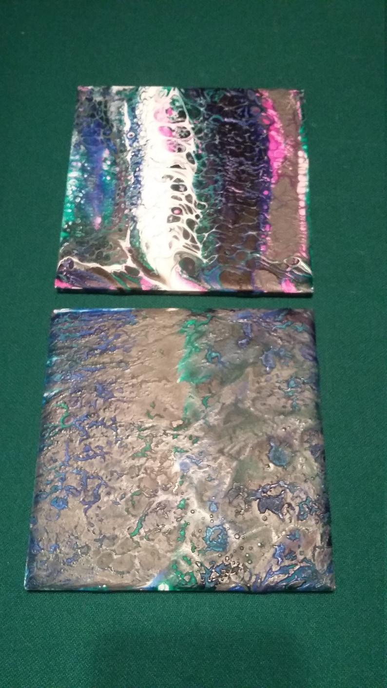 Pour tiles set 1