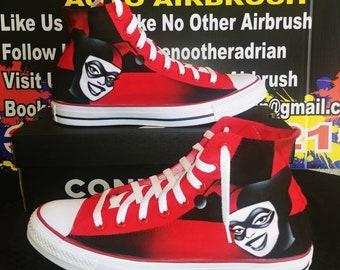 921fd48e03244d Harley Quinn Converse or Vans