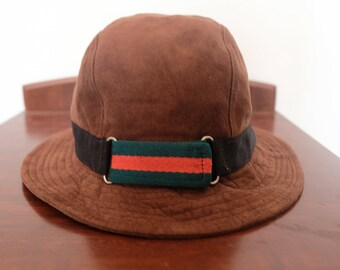 e16d9d3b26109 Gucci Bucket Hat Made in Italy Sz 55cm - 56cm