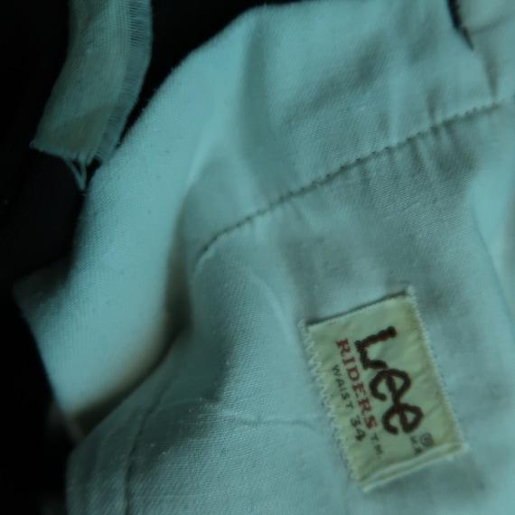 Vintage Lee Riders Short Pants Brown sz W33 - image 6