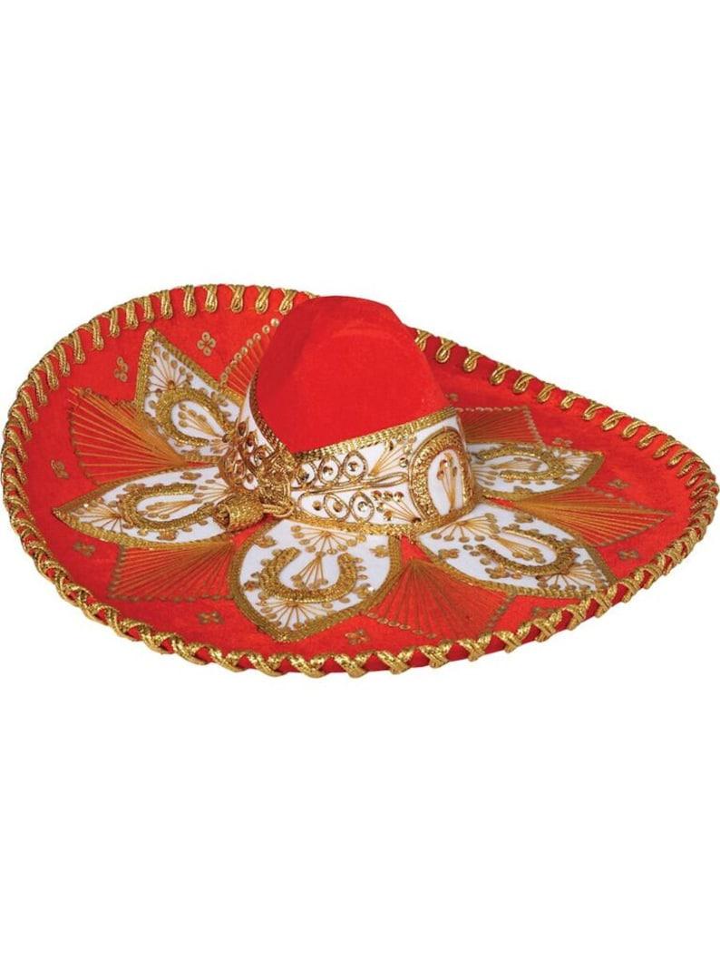 812e0bc2632bc Sombrero charro anaranjado dorado etsy jpg 794x1059 Dorado paés sombrero  charro