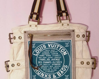 Authentic Vintage Louis Vuitton Trunks & Bags Code V10095 Turquoise Color
