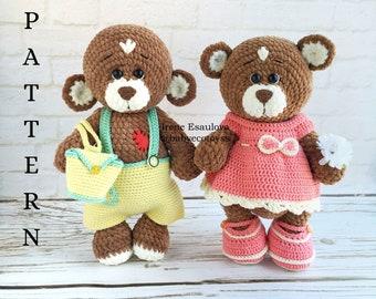 34 Crochet Teddy Bear Patterns | Guide Patterns | 270x340
