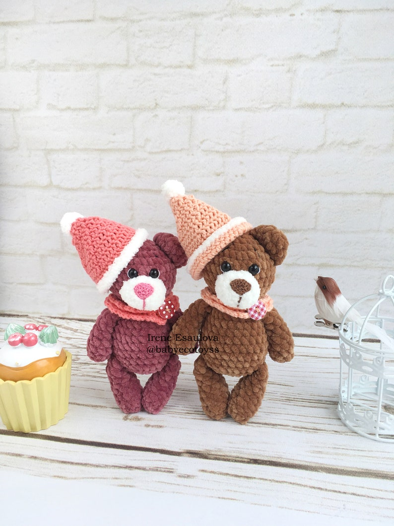 Crochet Amigurumi Teddy Bear Poly - Free Pattern - DIY 4 EVER | 1059x794