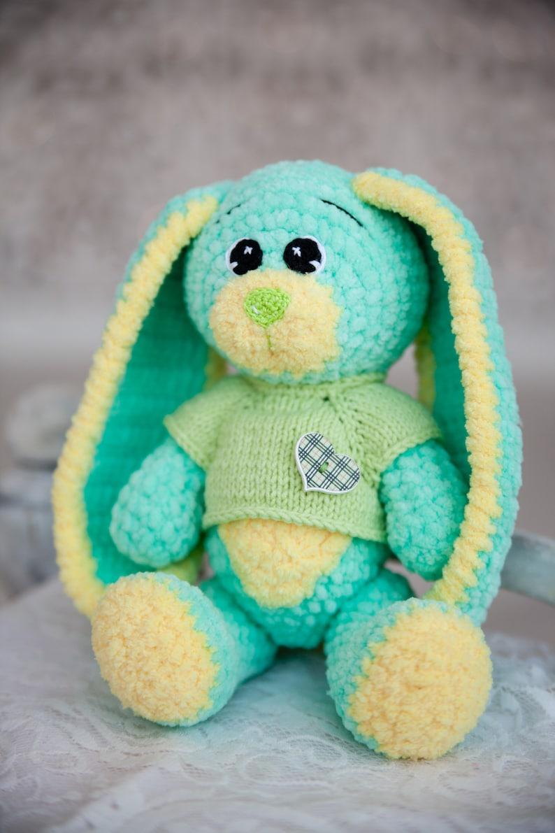 Amigurumi Soft Bunny Free Crochet Pattern - Amigurumi Crochet | 1191x794