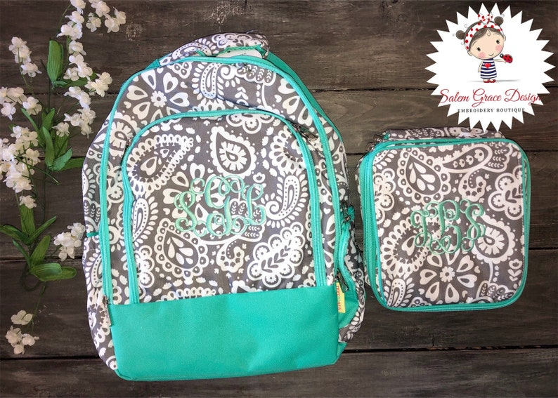 Parker Paisley Lunch Box