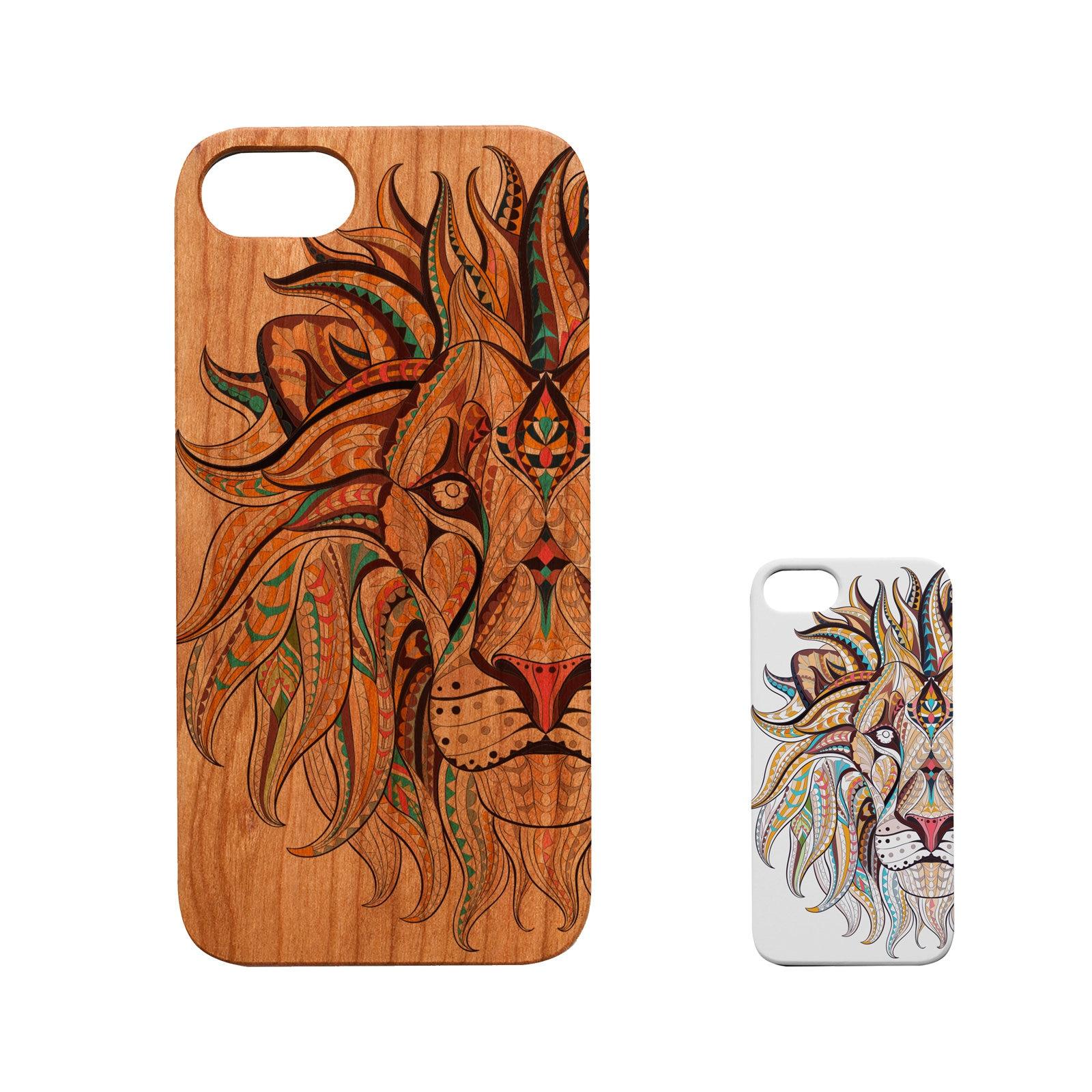 Xs 7+ FE 10+ SE Xr Lion Waves 6+,Samsung S20 Ultra 8+ LE 9 S8+ Wood Case S9+ 11 Pro Max 20 Note 8 iPhone 12 Mini X