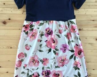 NAVY + ROSE Maxi dress