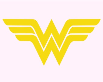 Wonder Woman Logo Etsy
