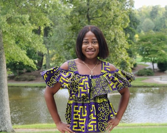 African Blouse Etsy