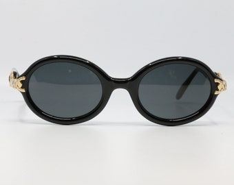db35ae846be AntePrima  Vintage Sunglasses Italian Design Round Sunglasses