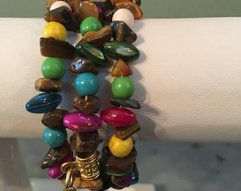 Spiral Wrapped Bracelet