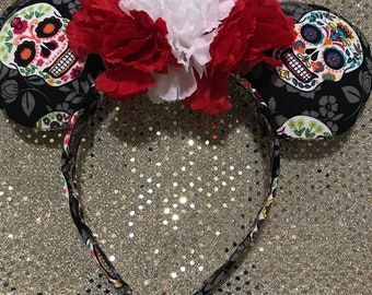 Day of the Dead Mickey Ears