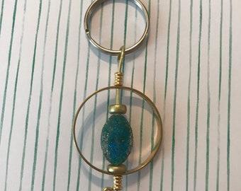 Around the World Bridget the Fidget Keychain
