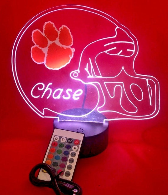 Flash Light NCAA Clemson Tigers LED Night Light