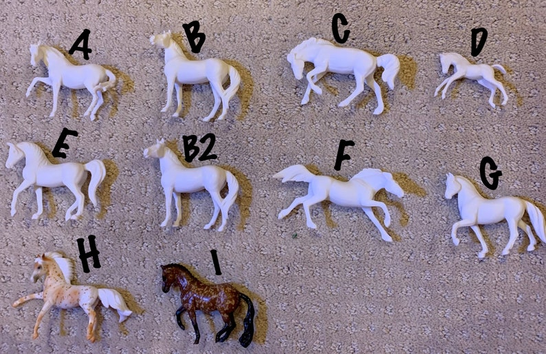 Made to Order Breyer Stablemate Customs