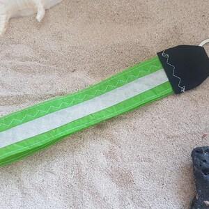 Fish key holder in recycled kitesurf sail recycled sail boat handmade kitesurf