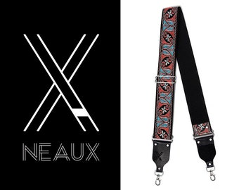 Vintage style camera strap by NEAUX - PSYCHEDELIC
