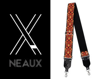 Vintage style camera strap by NEAUX - FIRE