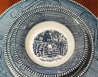 Currier and Ives Dinner Ware Set