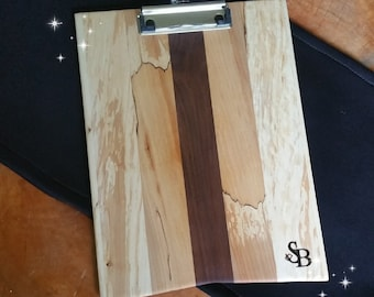 Maple And Walnut Clipboard