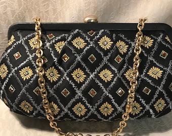 Vintage Talbots Designer Evening Bag, Clutch Purse