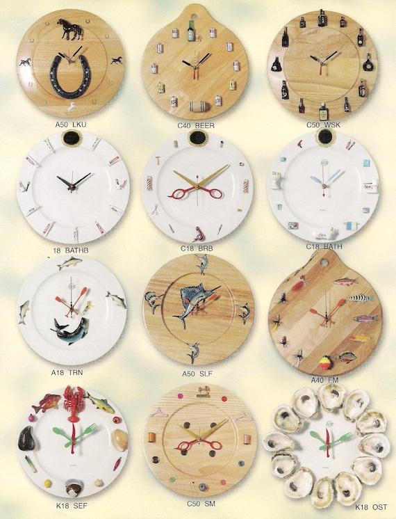 Justa Co. - Handmade Wall Clocks, Kitchen Wall clocks, Unique Wall Clocks.