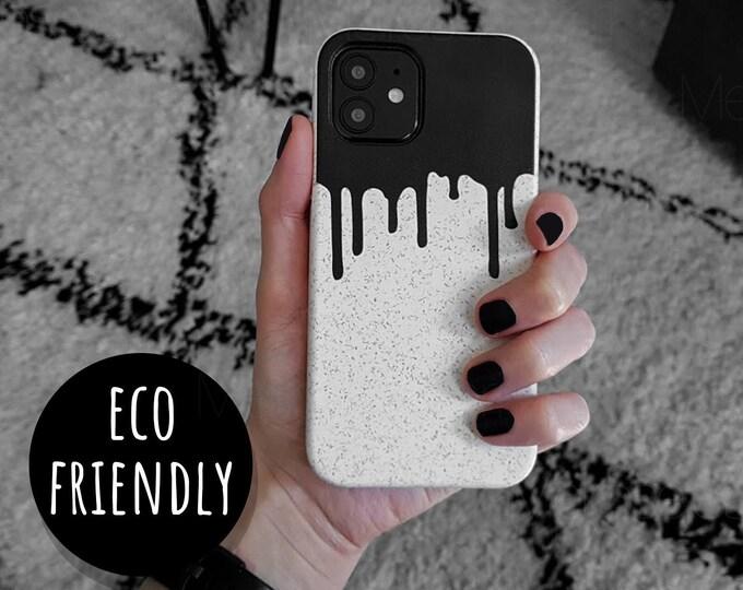 Eco Friendly Black Drip Case
