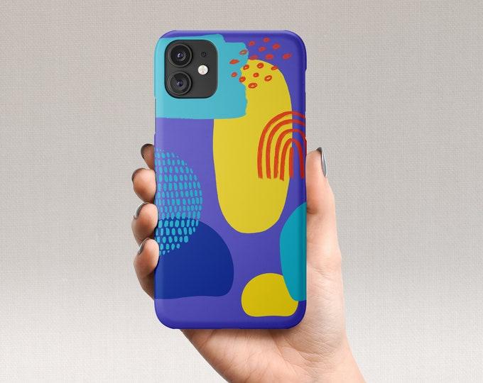 Blue Art iPhone Case
